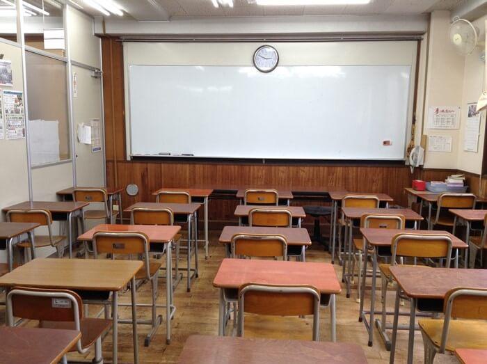 入江塾の教室1