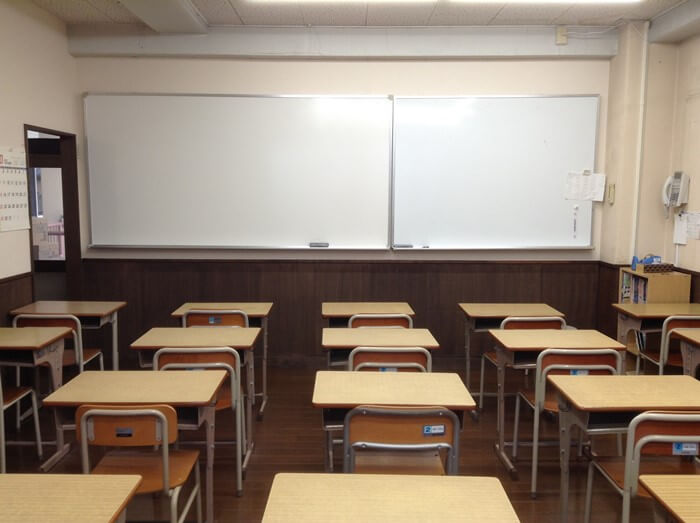 入江塾の教室2