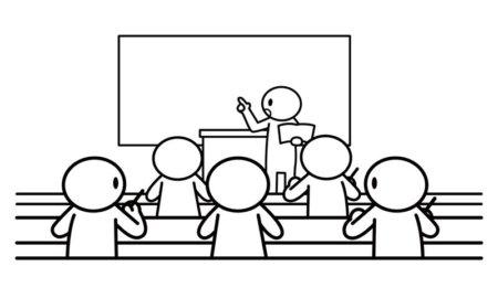 学習塾の授業風景